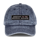 Assistant of The Regional Manager Dad Cap - PlanetSlay