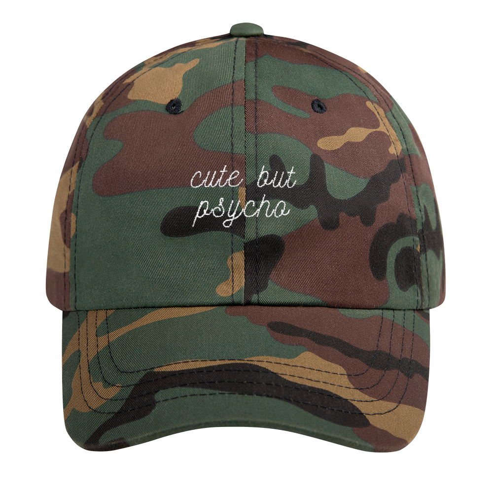 Cute But Psycho Dad Cap - PlanetSlay