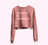 Babes & Bubby Crop Sweatshirt - PlanetSlay