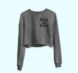 Bend The Knee Crop Sweatshirt