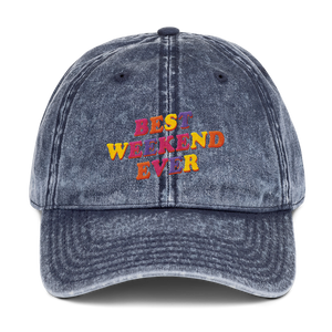 Best Weekend Ever Dad Cap