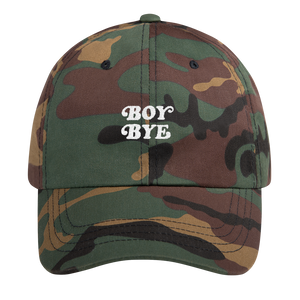 Boy Bye Dad Cap