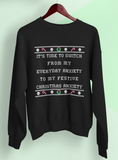 Festive Anxiety Sweatshirt - PlanetSlay