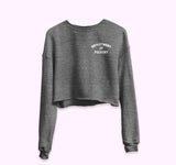 Department Of Fuckery Crop Sweatshirt - PlanetSlay