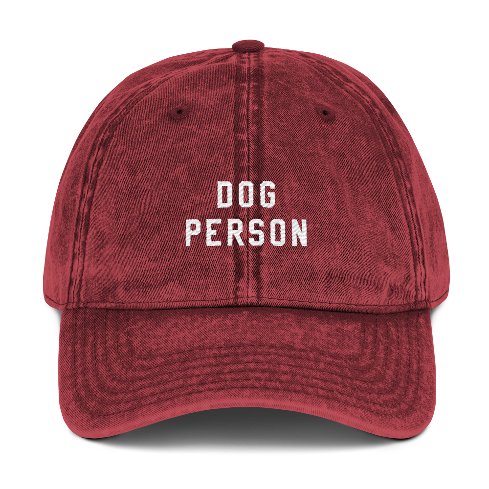 Dog Person Dad Cap - PlanetSlay