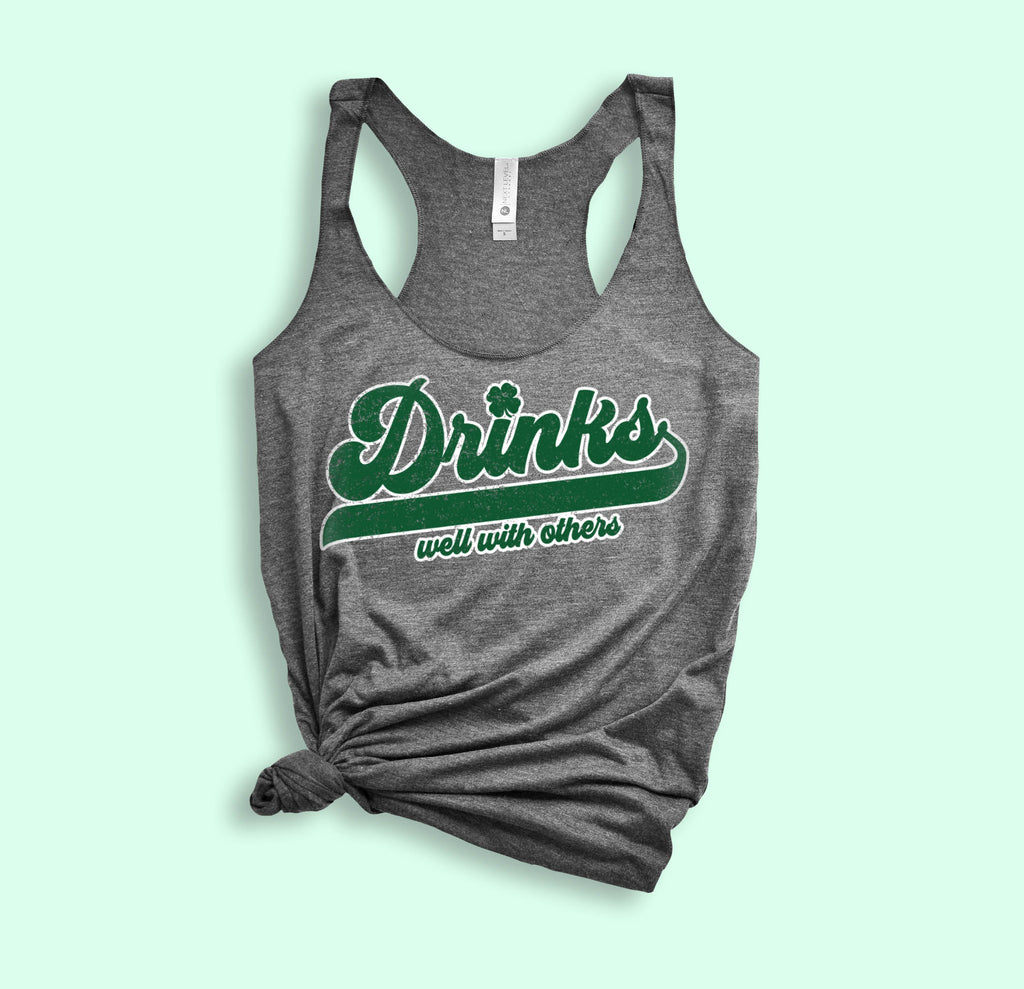Drinks Well With Others Tank - PlanetSlay