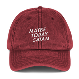 Maybe Today Satan Dad Cap - PlanetSlay