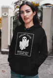 Feelin' Cute Might Haunt Your Later IDK Hoodie