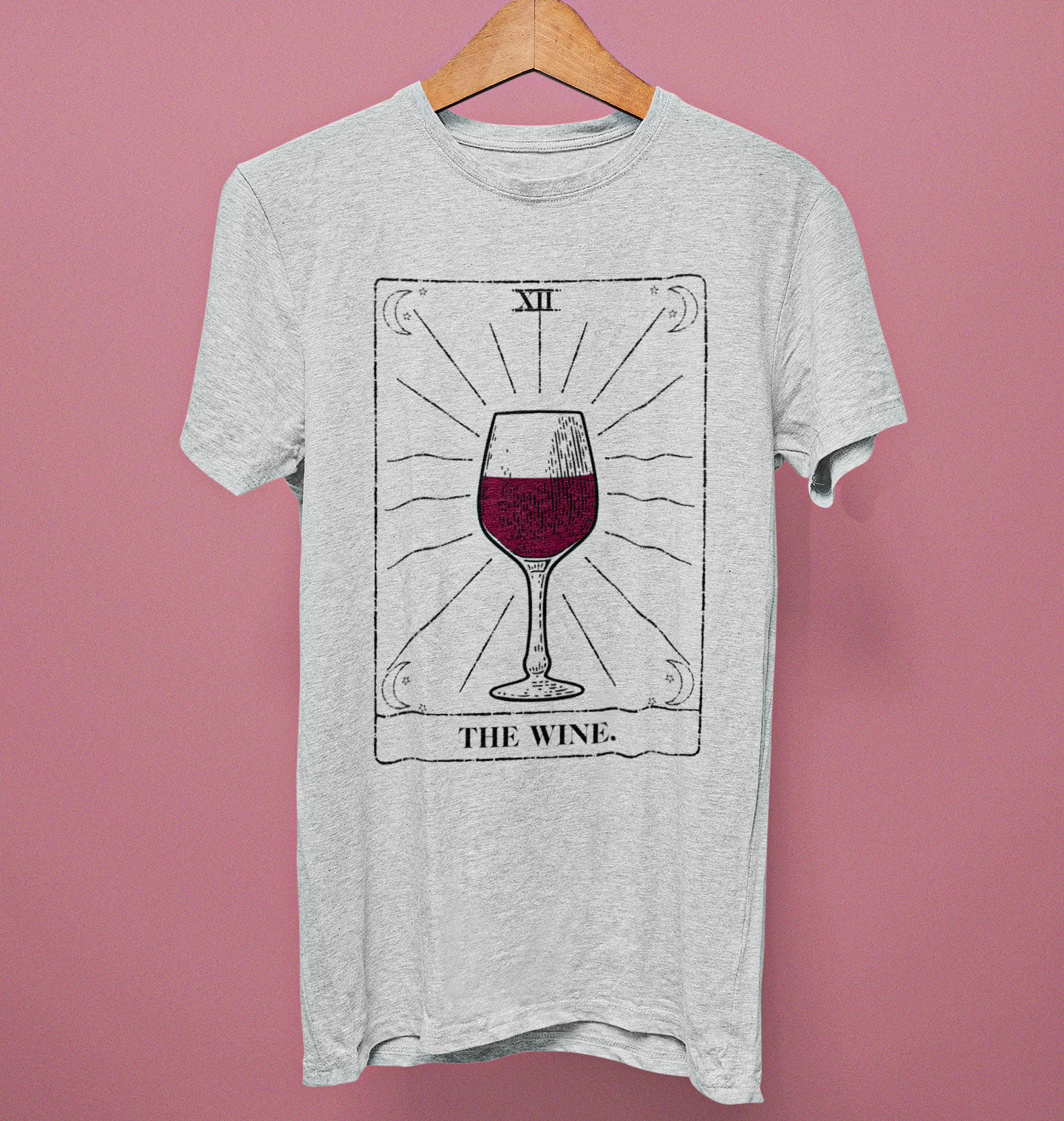 The Wine Tarot Card Shirt