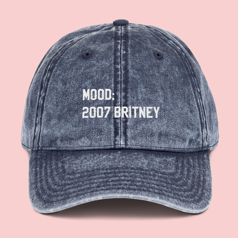 Mood: 2007 Britney Dad Cap - PlanetSlay
