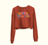 Road Trippin' Crop Sweatshirt - PlanetSlay