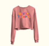 Road Trippin' Crop Sweatshirt