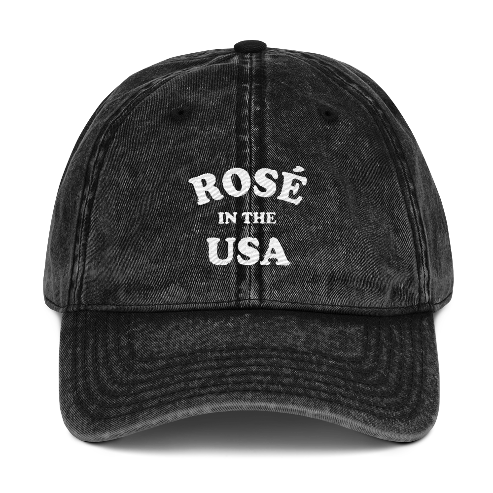 Rosé In The USA Dad Cap - PlanetSlay