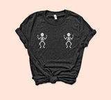 Skeleton Boobs Shirt