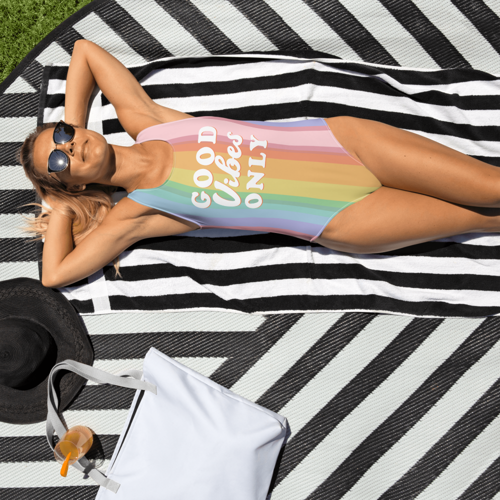 Good Vibes Only Swimsuit - PlanetSlay