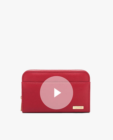 Banting Diabetes Wallet - Crimson