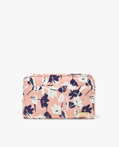Banting Diabetes Wallet - Sunset Pink Blossoms