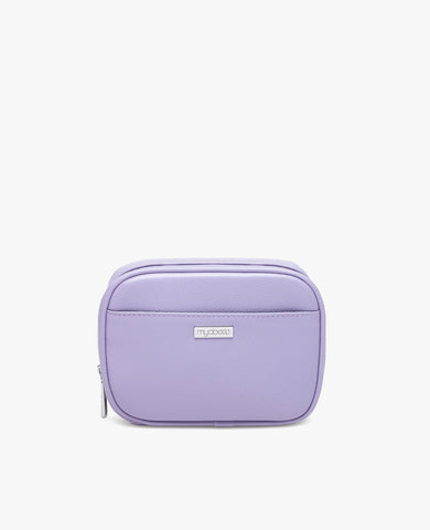 Clark Diabetes Compact Double Zip - Lavender