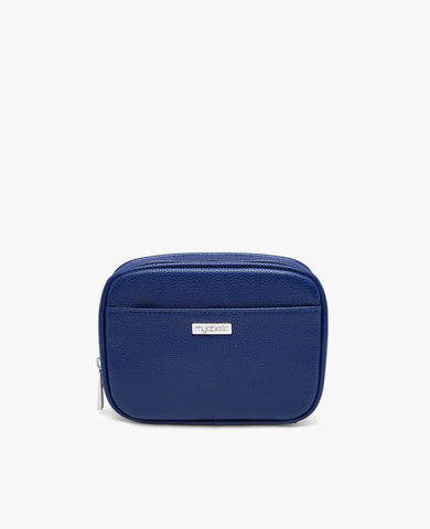 Clark Diabetes Compact Double Zip - Navy