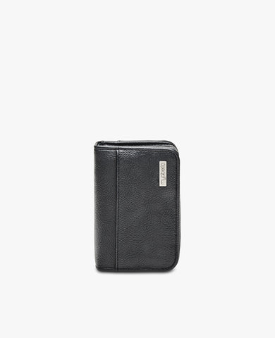Clemens Diabetes Compact Wallet - Black