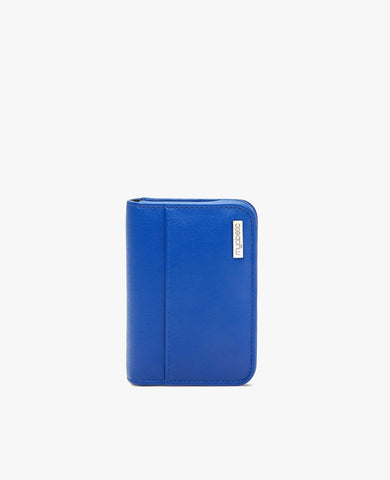 Clemens Diabetes Compact Wallet - Cobalt