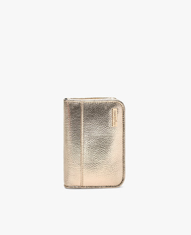 Clemens Diabetes Compact Wallet - Gold
