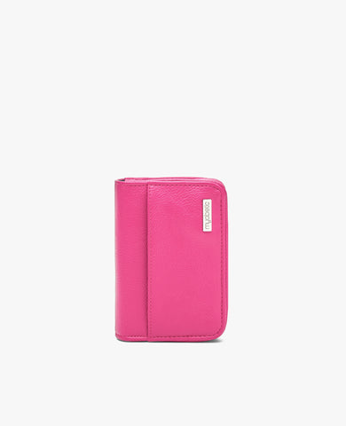 Clemens Diabetes Compact Wallet - Pink