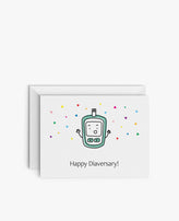 Greeting Card: Happy Diaversary