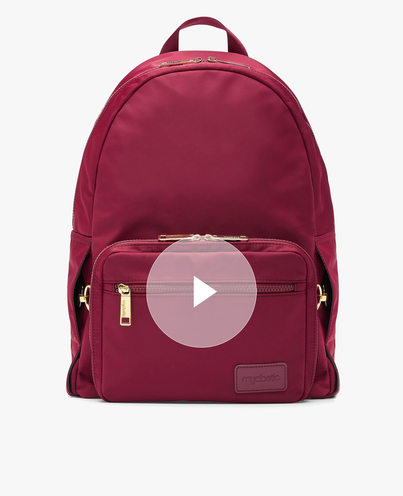 color:burgundy nylon  https://player.vimeo.com/video/525206309
