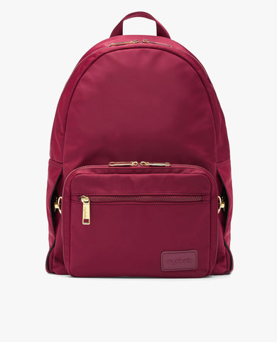 Edelman Diabetes Backpack - Burgundy Nylon