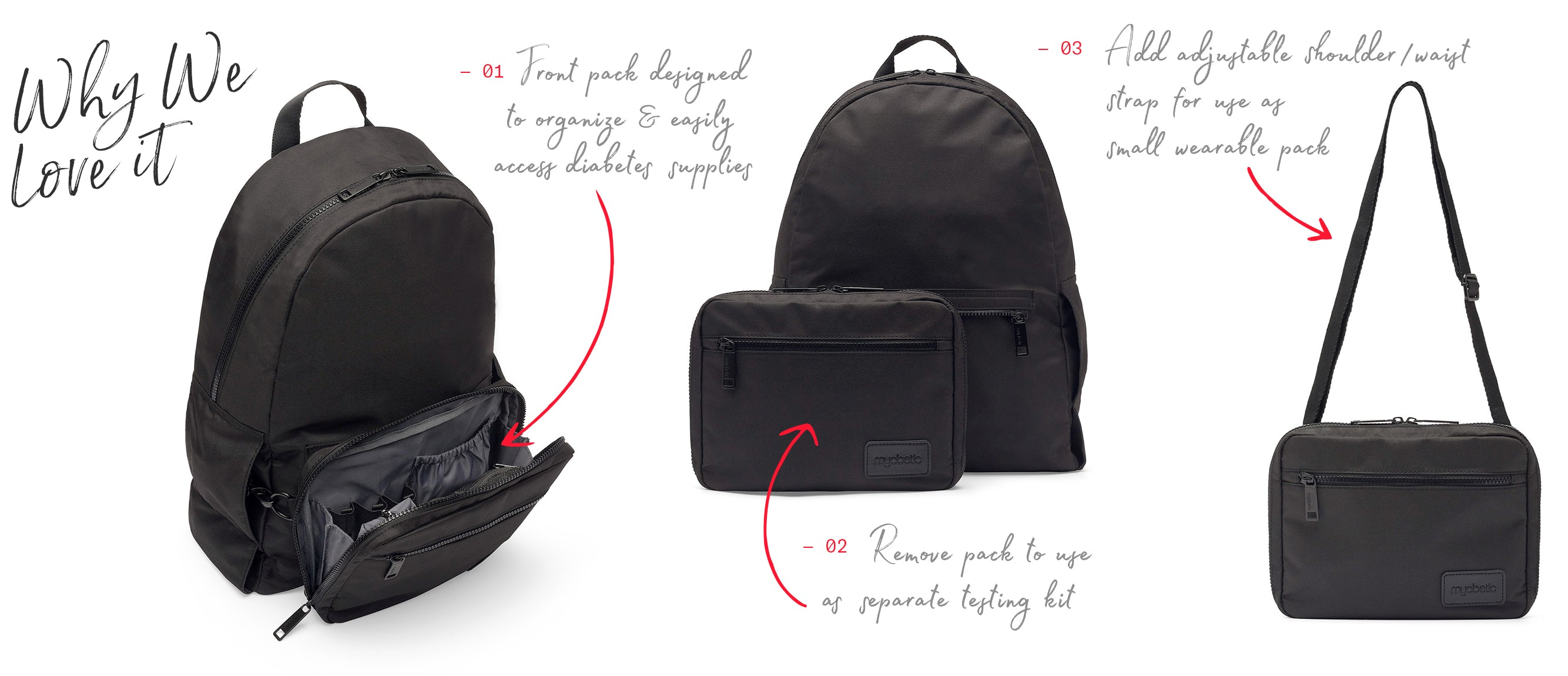 Myabetic Edelman Diabetes Backpack Why We Love It