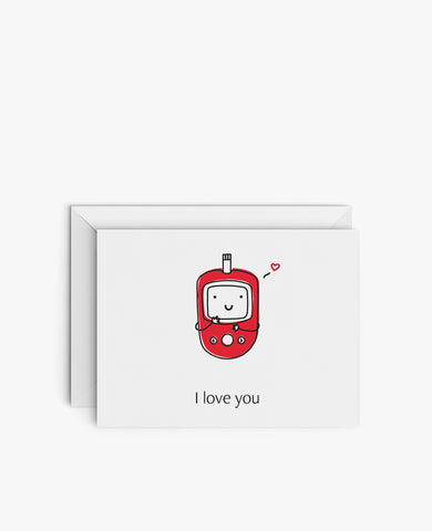 Greeting Card: I Love You