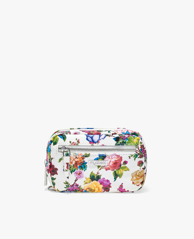 James Diabetes Compact Case - White Multi Floral
