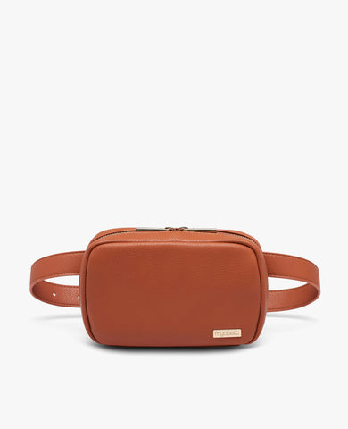 Joslin Diabetes Belt Bag - Cognac