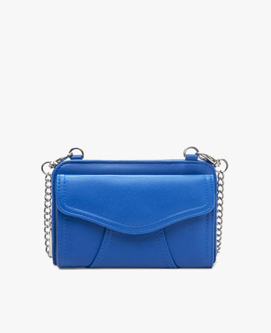 Marie Diabetes Mini Crossbody - Cobalt