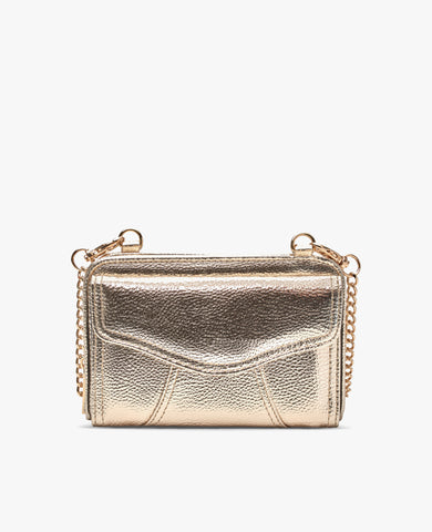 Marie Diabetes Mini Crossbody - Gold