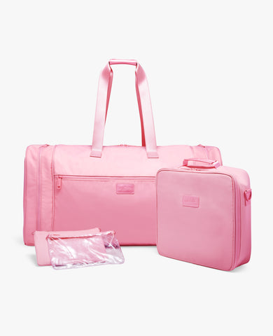 Strand Diabetes Duffel Bag Set - Blush Nylon