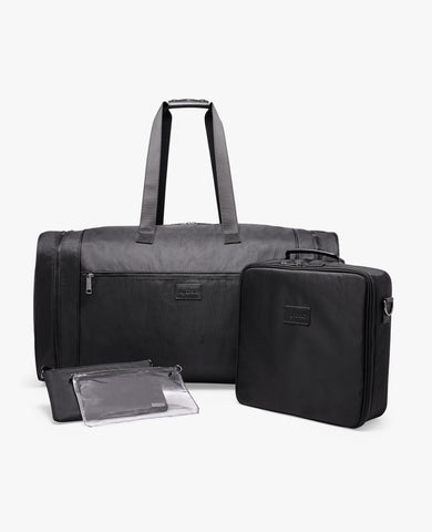 Strand Diabetes Duffel Bag Set - Black Ballistic Nylon