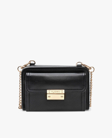 Tina Diabetes Mini Crossbody - Black