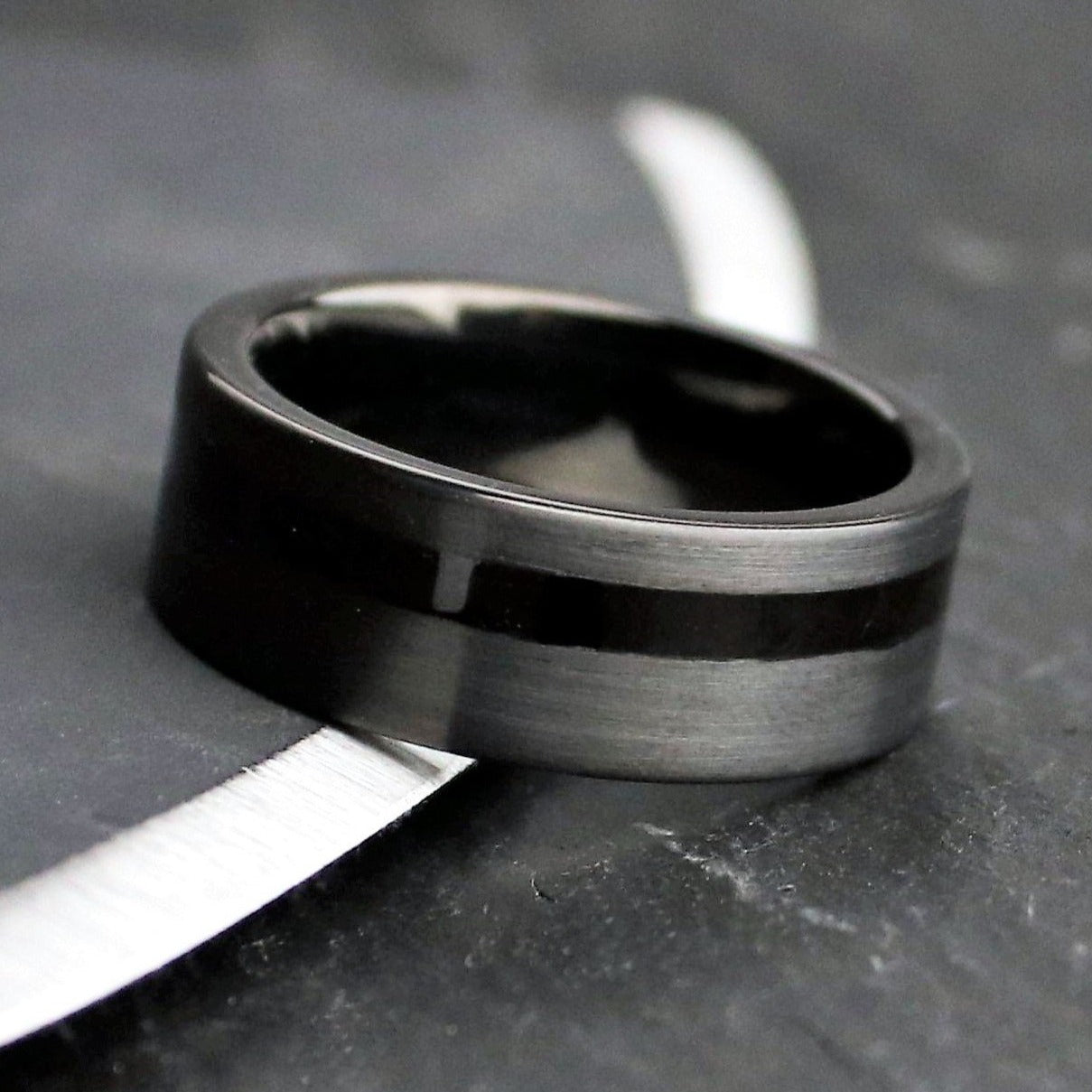 Ancient Bog Oak Ring | Northbands