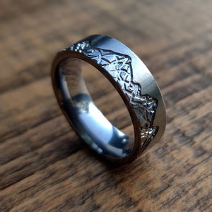 Mountain Range Wedding Ring | Northbands