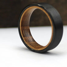 Load image into Gallery viewer, Black Wood Wedding Ring | Northbands