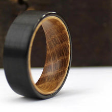 Black Whiskey Barrel Ring | Northbands