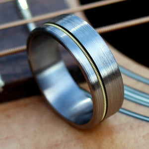 Guitar String Wedding Band | Northbands