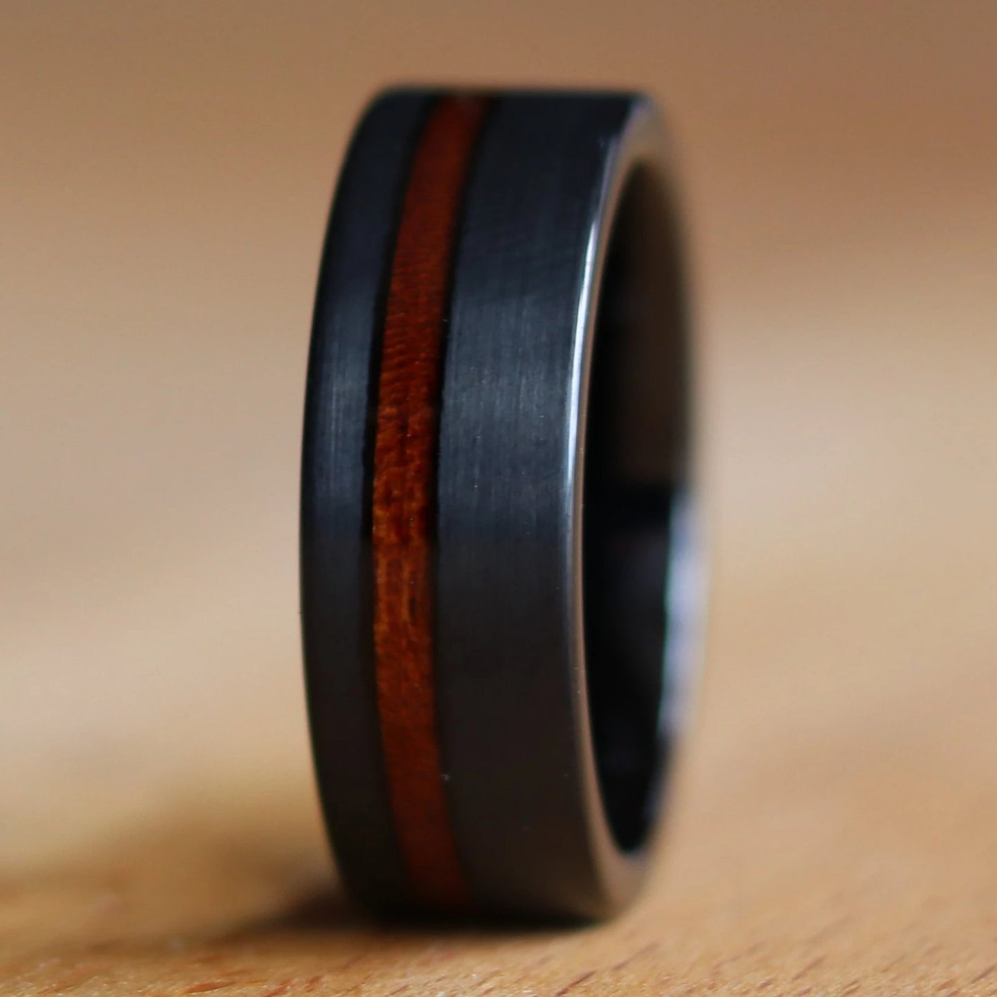 Black California Redwood Ring | Northbands