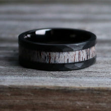 Load image into Gallery viewer, The Eikthyr | Black Antler Ring | Northbands