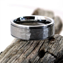 Load image into Gallery viewer, Hammered Tungsten Ring | Northbands