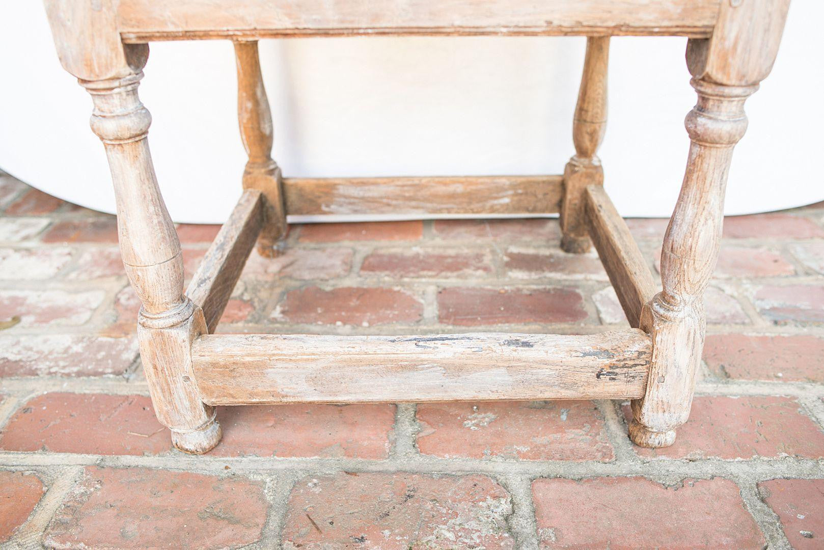 19th Century French Provincial Rustic Side Table