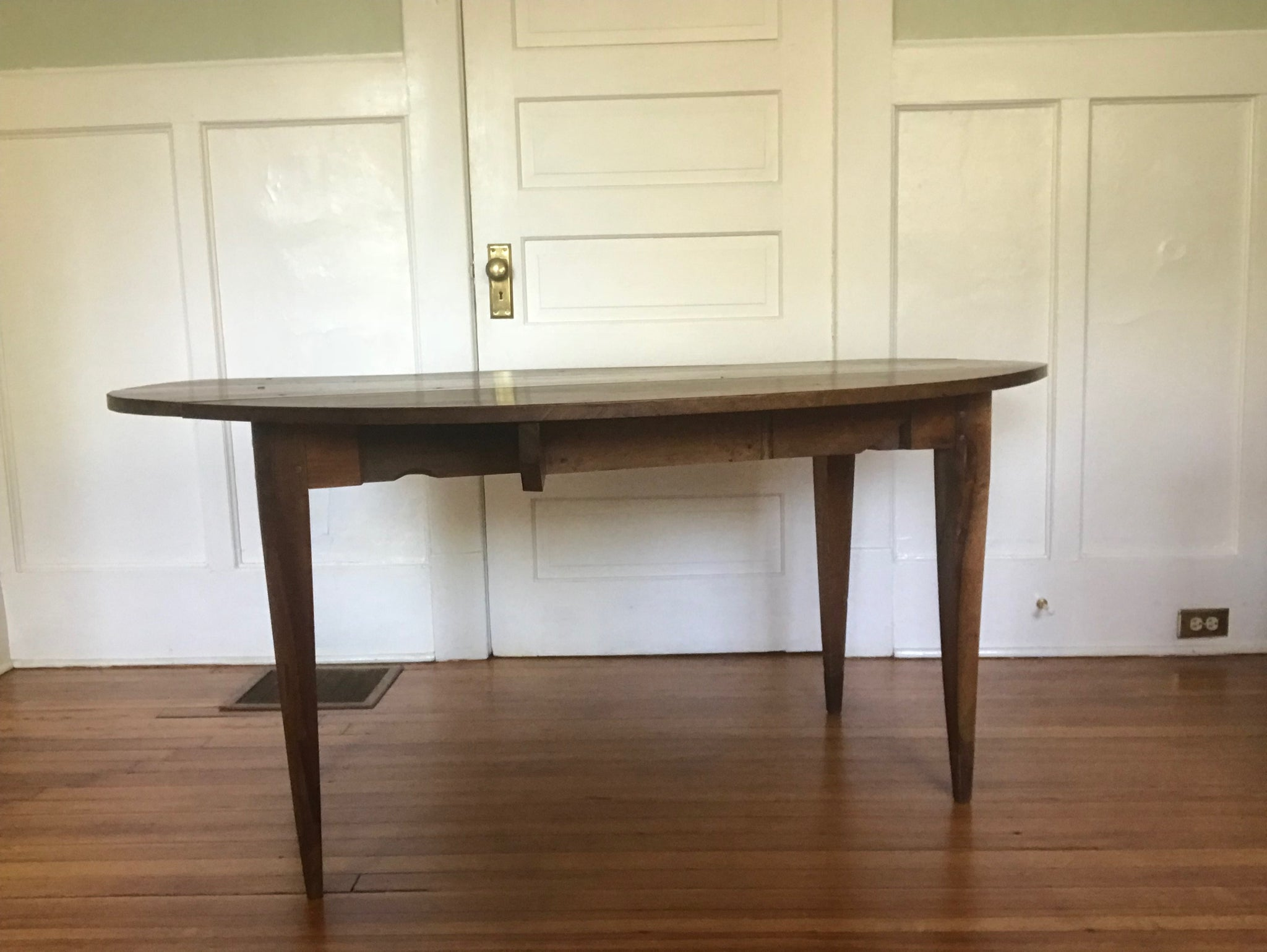Antique Walnut Drop Leaf Table