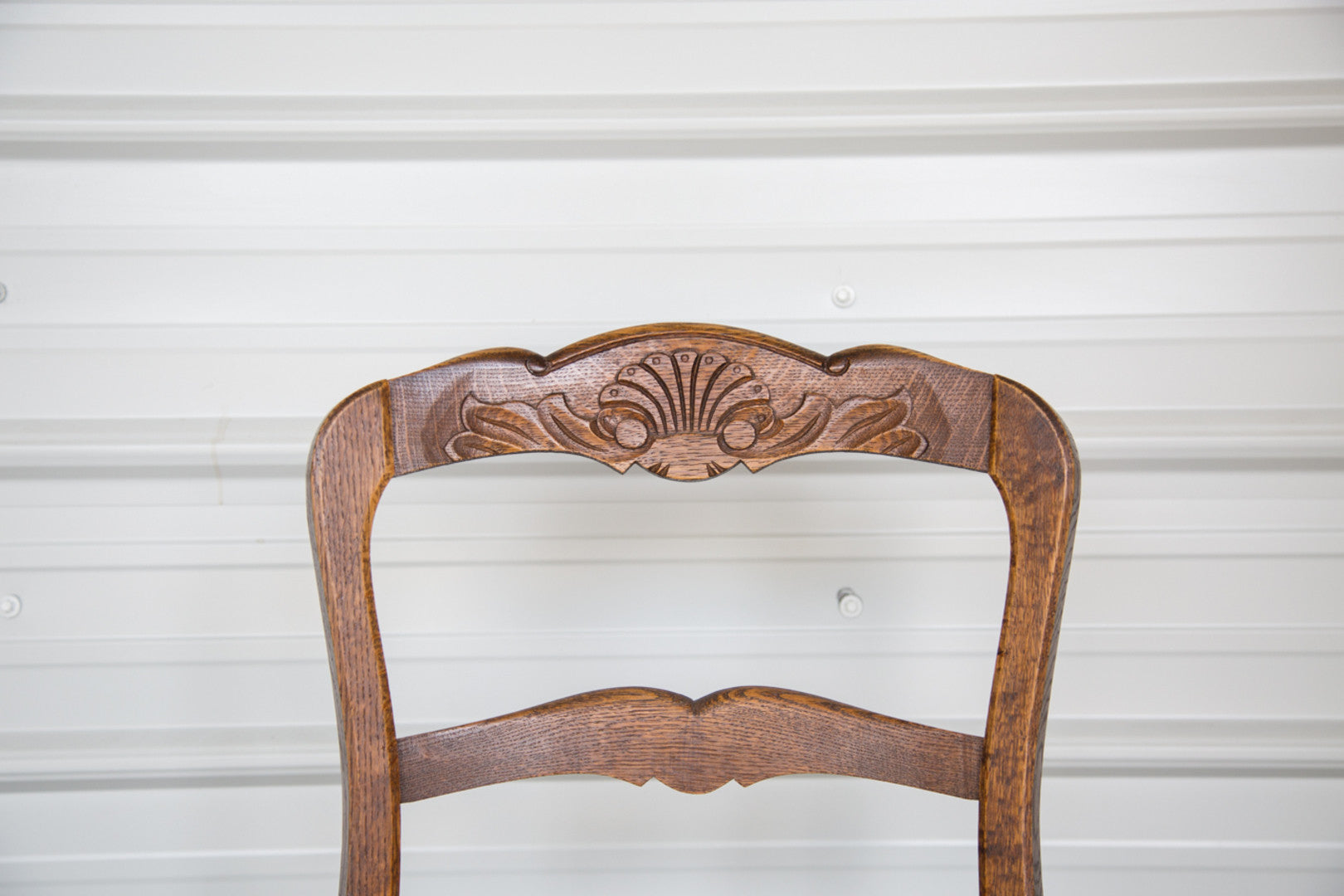 6 COUNTRY FRENCH ANTIQUE RUSH SEAT CHAIRS